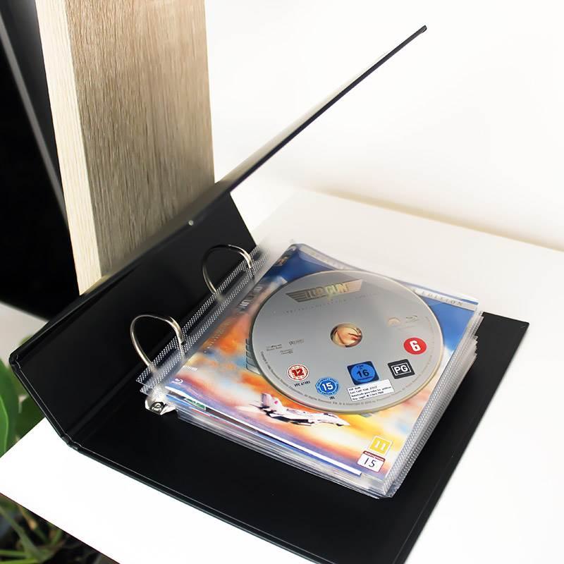 50 blu ray h llen zum abheften blu ray aufbewahrung. Black Bedroom Furniture Sets. Home Design Ideas